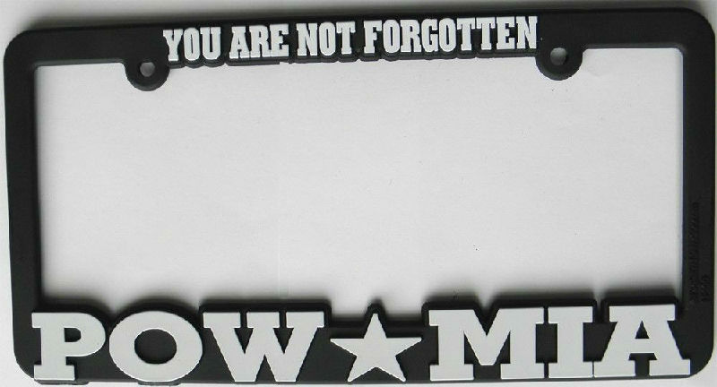 P.O.W. Missing In Action US Army License Plate Frame | Cordon Emporium