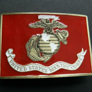 US ARMY ENGINEERS ENGINEER PEWTER ZINC BELT BUCKLE 3.25 INCHES