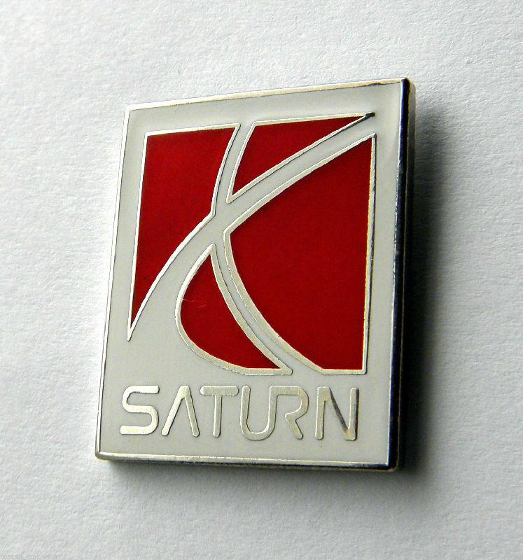 Saturn Gm General Motors Automobile Logo Car Lapel Pin Badge 1 Inch