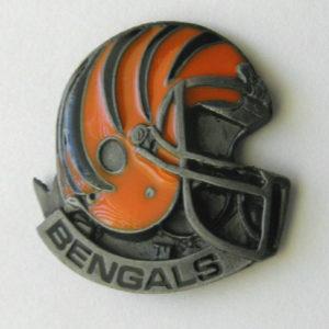 29291ec41aa Cincinnati Bengals Helmet NFL Football Logo Hat Or Lapel Pin Badge 1 Inch