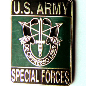 US Army Delta Force Flash Special Forces Lapel Pin Badge 1 5