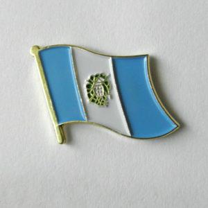 Guatemala National Country World Flag Single Lapel Pin Badge 1 Inch