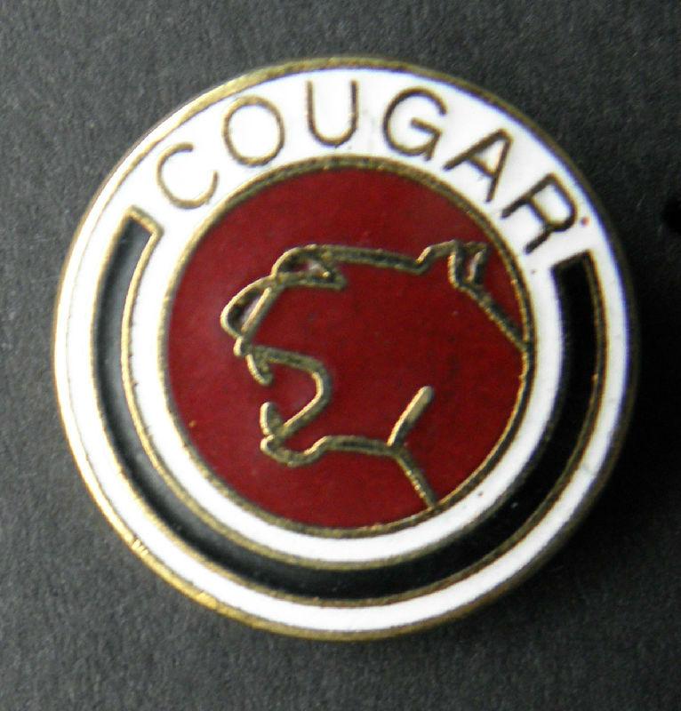 Cougar Mercury Automobile Car Insignia Auto Lapel Pin Badge 34 Inch