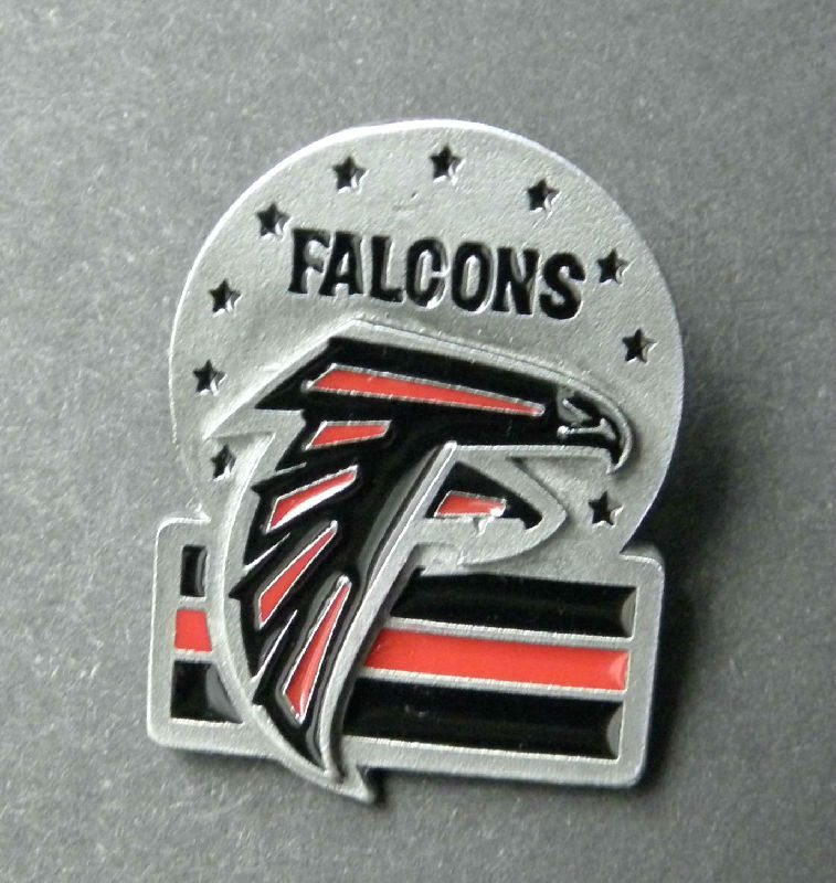 competitive price a2193 56d96 Atlanta Falcons NFL Football New Design Logo Lapel Pin 1.1 Inches