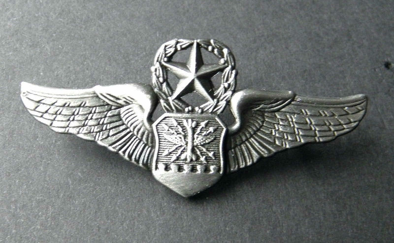 ARMY SPECIAL FORCES AIRBORNE WINGS LAPEL HAT PIN BADGE 1.25 INCHES
