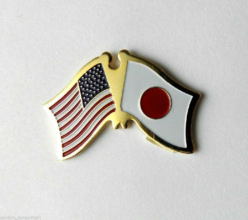 JAPAN JAPANESE SINGLE FLAG LAPEL PIN BADGE 3//4 INCH